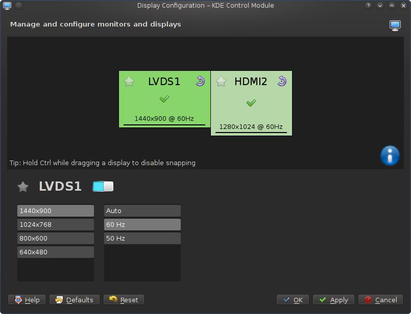 best service ec348 e7f8f Ustawienia i konfiguracja monitora w KDE