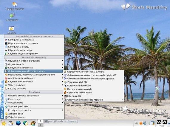 pretty nice e7386 2d661 Przejrzyste menu z programami
