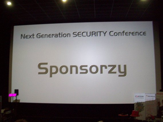 Next Generation Security Conference 2012 - ekran