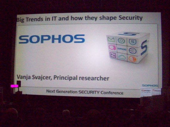 Next Generation Security Conference 2012 - sophos