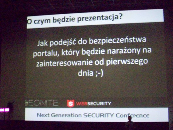 Next Generation Security Conference 2012 - teonite2